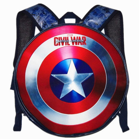 Captain America Shield Backpack - SpiritCos
