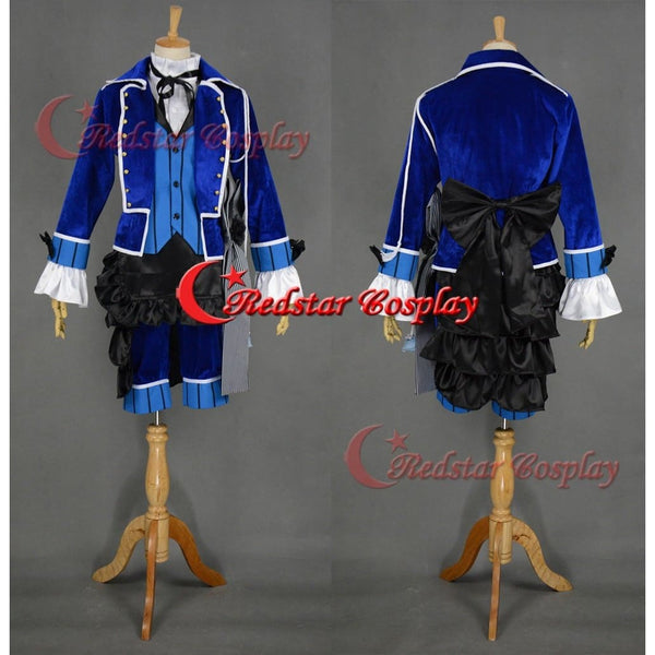 Ciel Phantomhive Cosplay Costume (Blue) From Kuroshitsuji Black Butler Cosplay - Custom Made In Any Size - SpiritCos