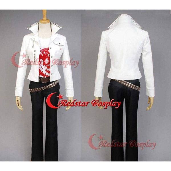 Danganronpa Leon Kuwata Suit Coat Cosplay Costume Outfit Uniform Jacket Shirt - SpiritCos