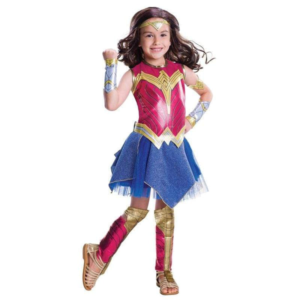 Deluxe Child Dawn of Justice Wonder Woman Costume for Girl - SpiritCos