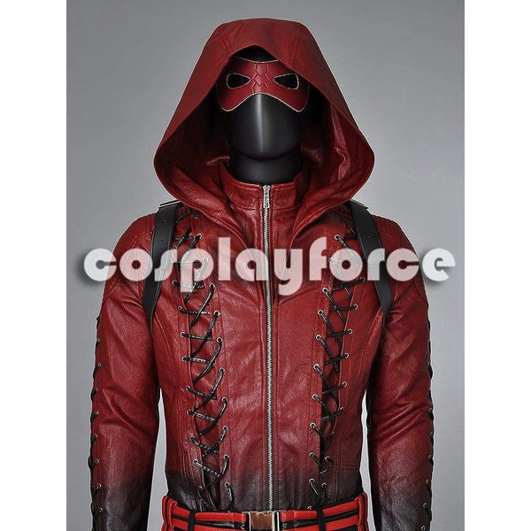 Deluxe Green Arrow Season 3 Arsenal Roy Harper Cosplay Costume Mp002820 - SpiritCos