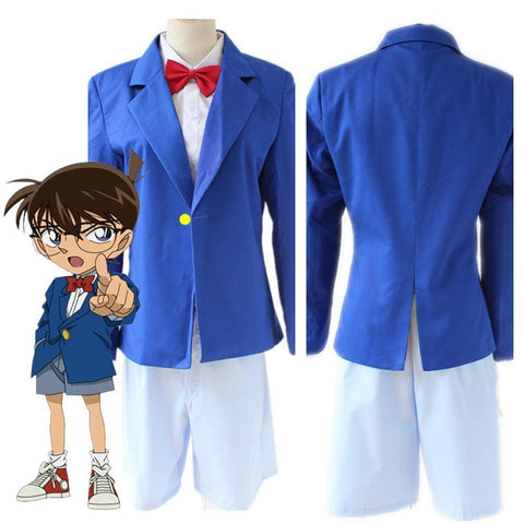 Detective Conan Case Closed Conan Edogawa Halloween Cosplay Costume - SpiritCos