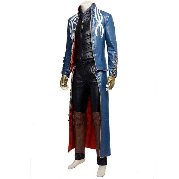 Devil May Cry 3 Vergil Dante Cosplay Costumes Devil May Cry 3 Vergil Dante Cosplay Costumes - SpiritCos