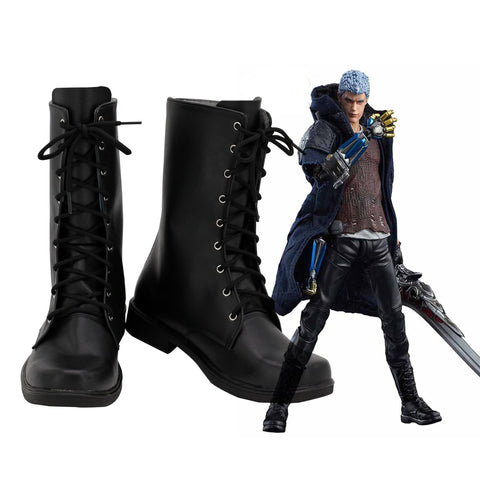 Devil May Cry 5 Nero Cosplay Shoes - SpiritCos