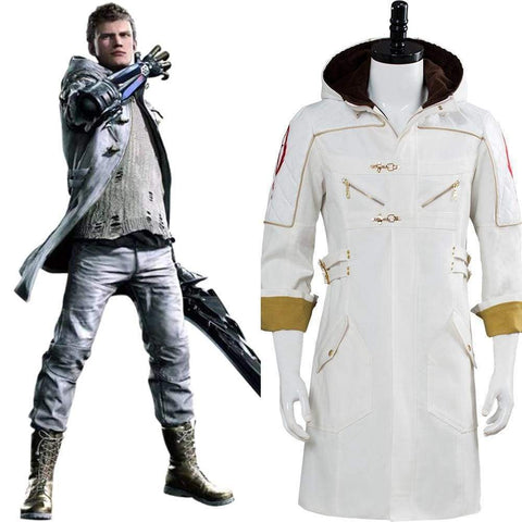 Devil May Cry 5  Nero Dlc Ex Color Cosplay Costume Coat Only - SpiritCos