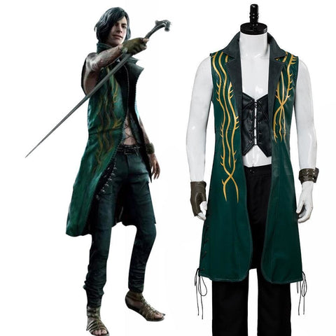 Devil May Cry 5 V Dlc The Bloody Palace Cosplay Costume - SpiritCos