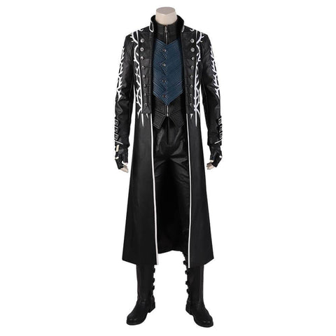 Devil May Cry 5 Vergil Cosplay Costume Adult Custom Made For Halloween - SpiritCos