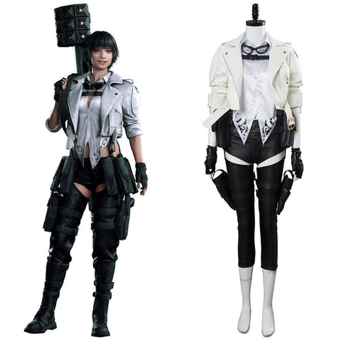 Devil May Cry V Dmc5 Lady Mary Outfit Cosplay Costume - SpiritCos