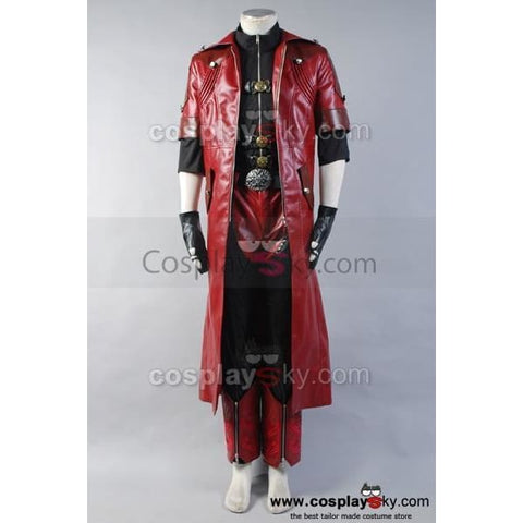 Dmc Devil May Cry 4 Dante Cosplay Costume Custom Full Set - SpiritCos