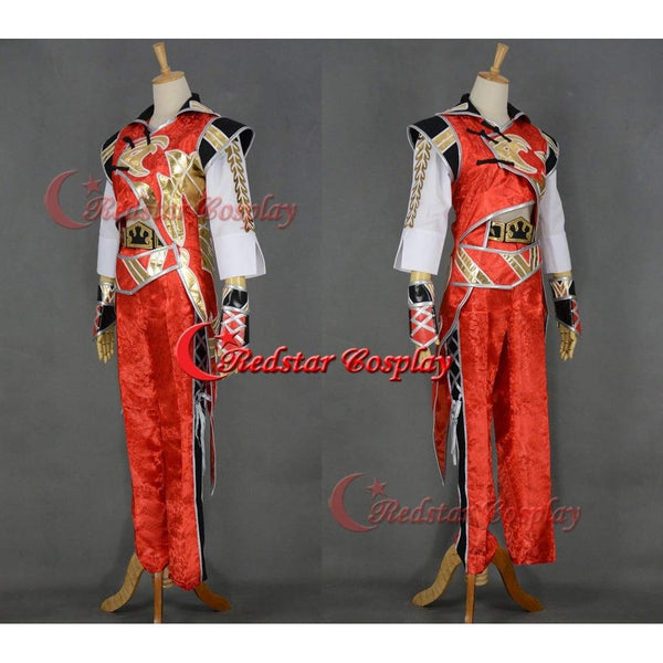 Dynasty Warrios 7 Lu Xun Cosplay Costume - SpiritCos