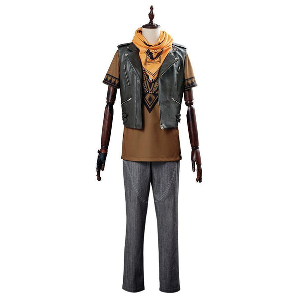 Game Twisted Wonderland Ruggie Bucchi Suit Cosplay Costume - SpiritCos