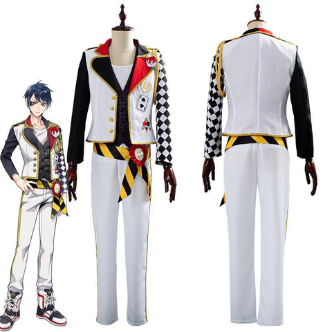 Game Twisted-Wonderland Alice In Wonderland Theme Deucc Cosplay Costume - SpiritCos