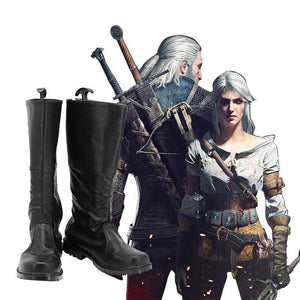 The Witcher Cavill Geralt Of Rivia Cosplay Shoes - SpiritCos