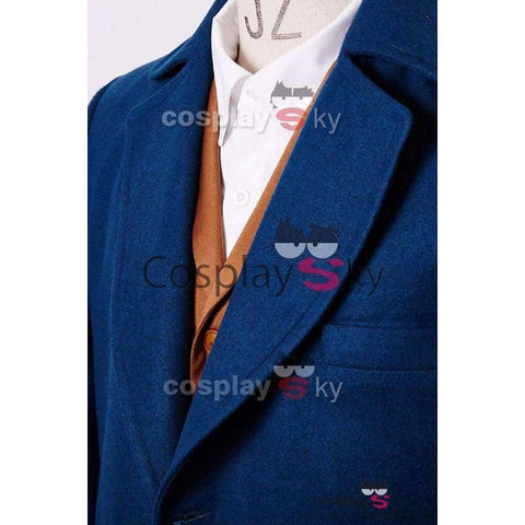 Fantastic Beasts And Where To Find Them Eddie Newt Scamander Outfit Cosplay Costume - SpiritCos