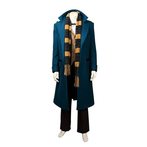 Fantastic Beasts And Where To Find Them Newt Scamander Cosplay Costume Halloween Cosplay Suit - SpiritCos