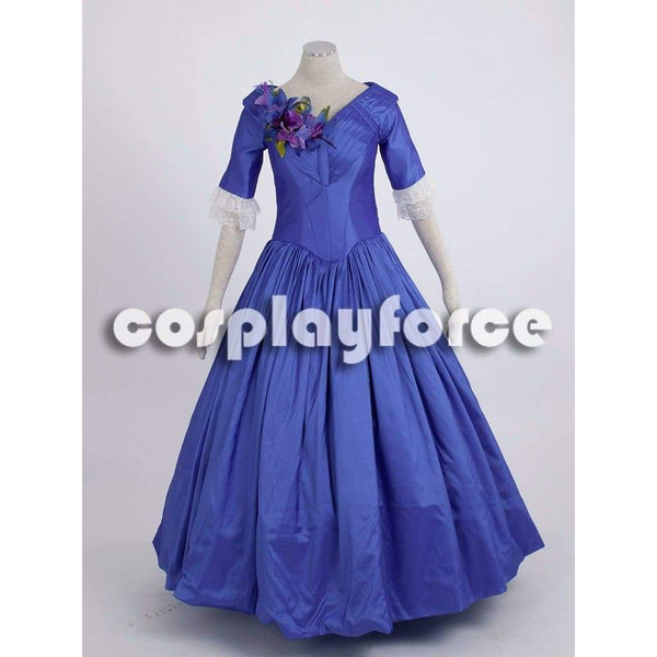 Film The Young Victoria Blue Cosplay Court Dress - SpiritCos
