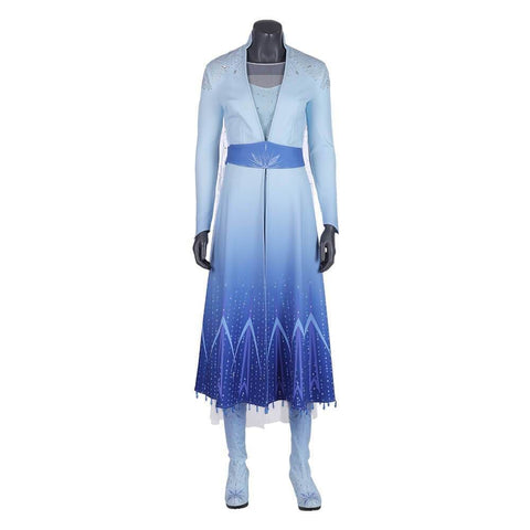 Frozen 2 Elsa Dress Costume Cosplay Party - SpiritCos