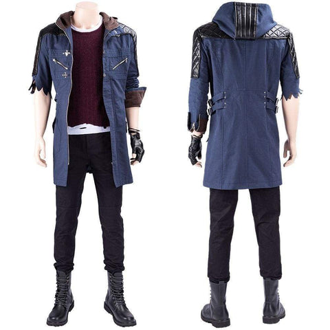 Game Devil May Cry 5 Nero Outfit Cosplay Costume - SpiritCos