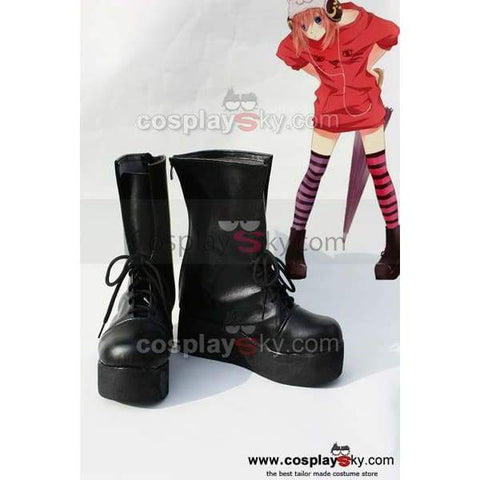 Gintama Kagura Cosplay  Boots Shoes - SpiritCos