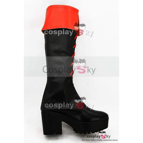 Gintama Kagura High-Heeled Boots Cosplay Shoes - SpiritCos