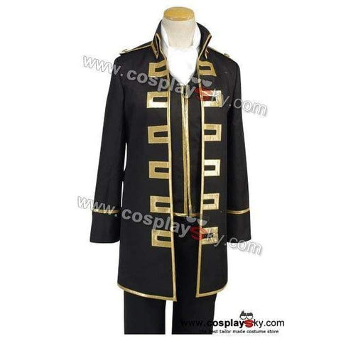 Gintama Shinsengumi Police Gold Soul Cosplay Costume Uniform - SpiritCos