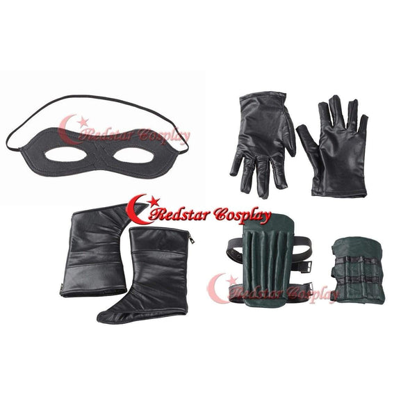 Green Arrow Season 3 Oliver Queen Cosplay Costume Suit Outfit Uniform - SpiritCos