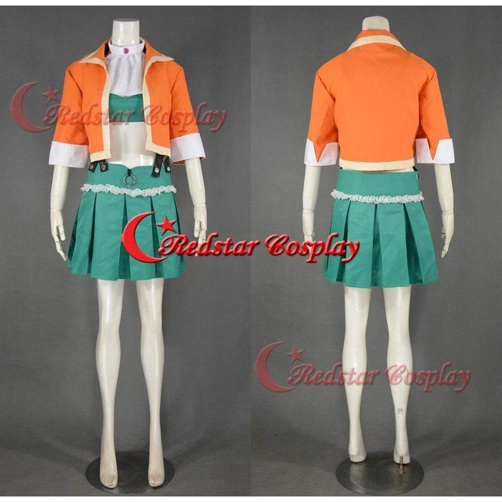 Gumi Cosplay Costume (Megpoid 2Nd) From Vocaloid 3 - SpiritCos