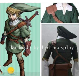 Handmade - Link Cosplay, Link Costume, The Legend Of Zelda Link Cosplay Costume - SpiritCos
