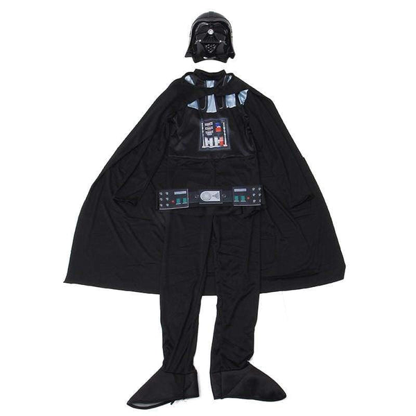 Deluxe Child Movie Star Wars The Force Awakens Villain Character Darth Vader Halloween Cosplay Costumes - SpiritCos