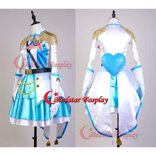 Idol Master Cinderella Girls!Rin Shibuya Cosplay Costume The Idolmaster Cinderella Girls Suit Dress Uniform Gown - SpiritCos