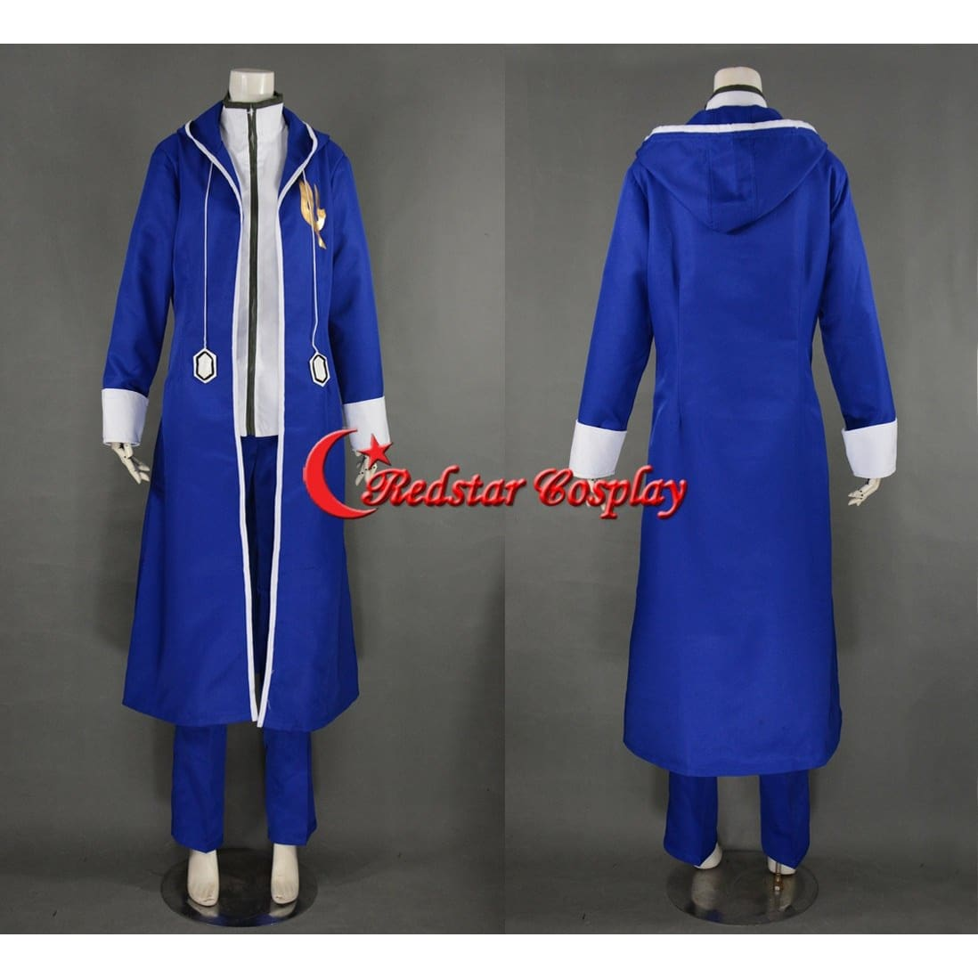Jellal Fernandes Cosplay Costume From Fairy Tail Anime - Custom Made In Any Size - SpiritCos