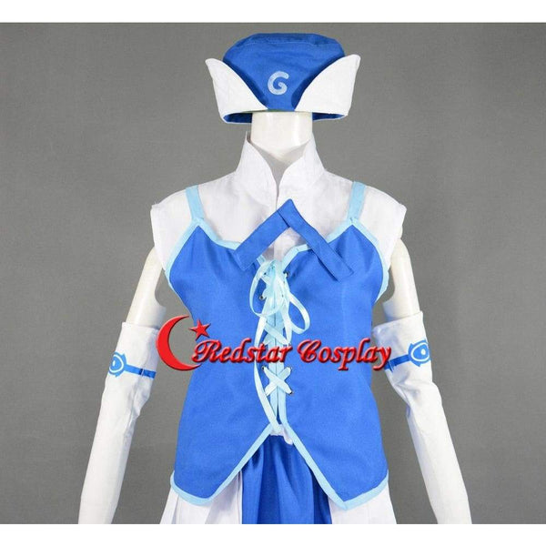 Juvia Loxar Cosplay Costume From Anime Fairy Tail - Costume Made In Any Size - SpiritCos