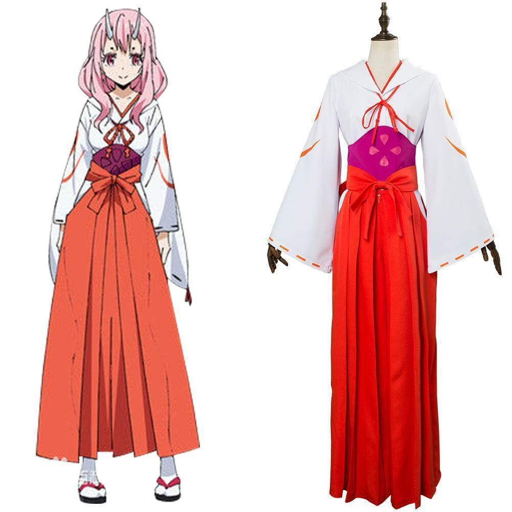 Matter Was Slime After Reincarnation Shuna Cosplay Costume - SpiritCos