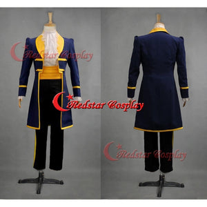 Mens Royal Prince Charming Beauty And The Beast Adam Cosplay Costume - For Adult Or Kids - SpiritCos