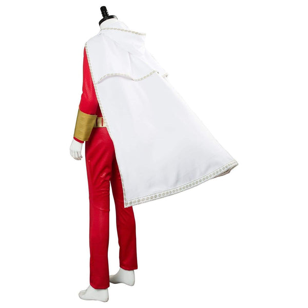 Movie Shazam Billy Batson Outfit Cosplay Costume - SpiritCos