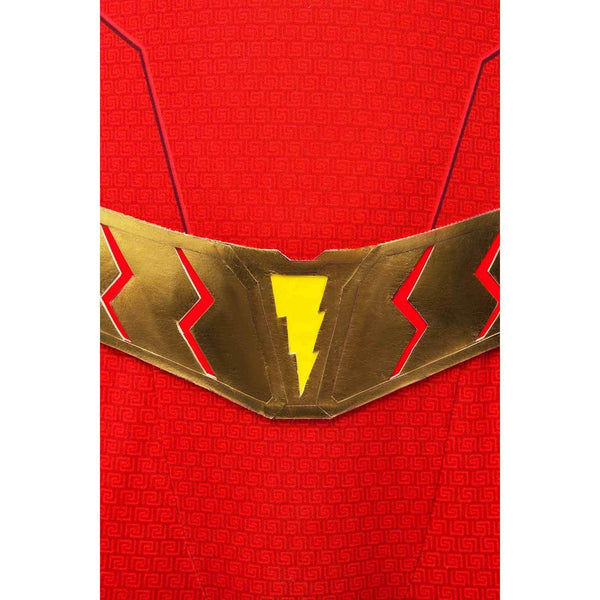 Movie Shazam Billy Batson Outfit Cosplay Costume Version Two - SpiritCos
