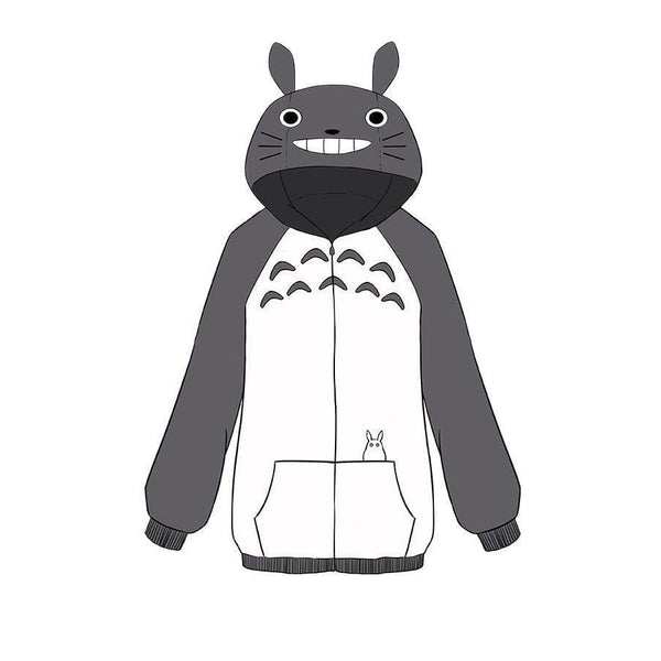My Neighbor Totoro Tonari No Totoro Hoodie Coat Cosplay Costume - SpiritCos
