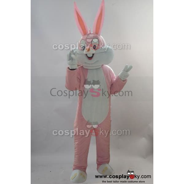 New Rabbit Mascot Cosplay Costume Adult Size - SpiritCos