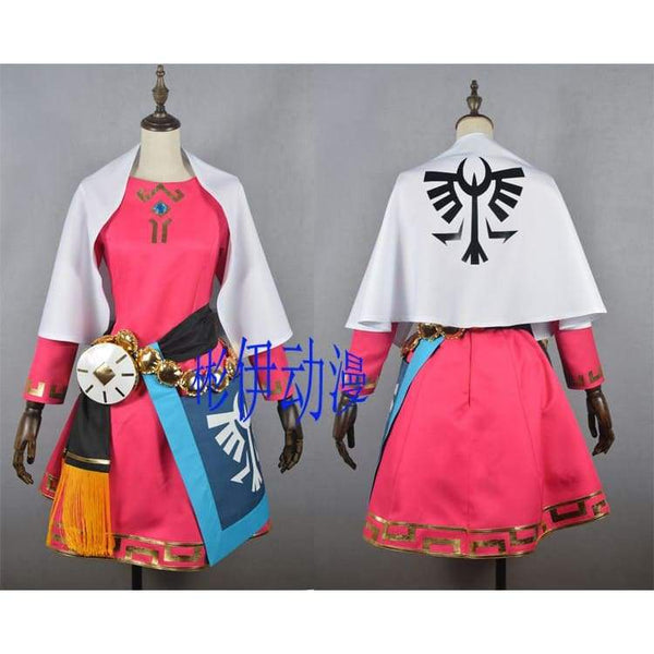 The Legend of Zelda Princess Zelda Cosplay Costume Zelda Cosplay Dress - SpiritCos