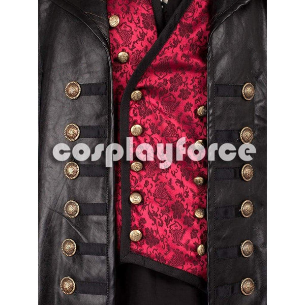 Once Upon a Time Killian Jones Captain Hook Cosplay Costume ONLY Jacket - SpiritCos
