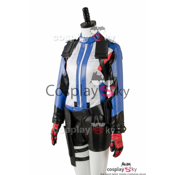Overwatch Soldier 76 Bio Jack Morrison Female Version Cosplay Costume - SpiritCos