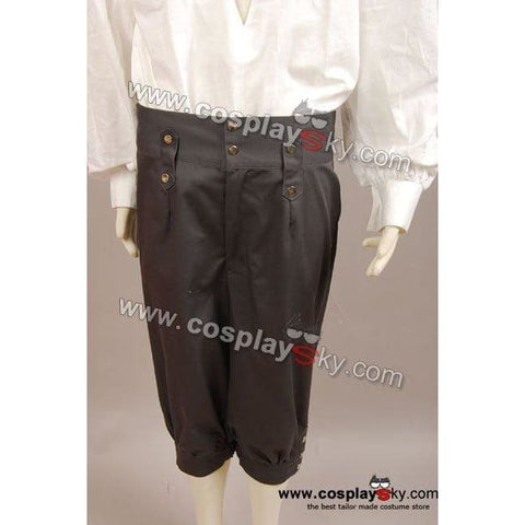 Pirates Of The Caribbean Jack Sparrow Pants Costume - SpiritCos