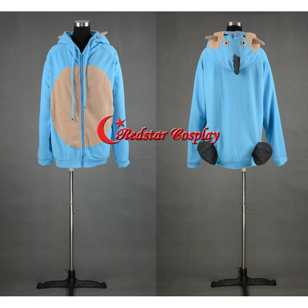 Pocket Monster Pokemon Pikachu Mudkip Hoodie Cosplay Jacket Costume Coat - SpiritCos