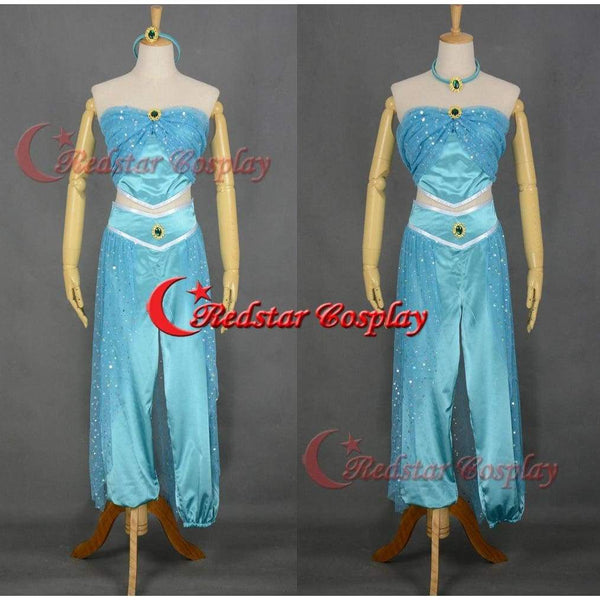 Princess Jasmine Cosplay Costume Dress From Aladdin And The King Of Thieves Cosplay B - SpiritCos