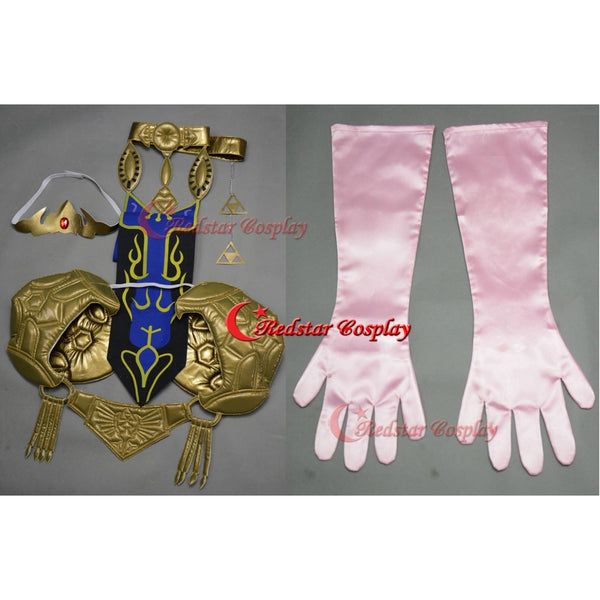 Princess Zelda Cosplay Costume (Purple) From The Legend Of Zelda: Twilight Princess - Custom Made In Any Size - SpiritCos