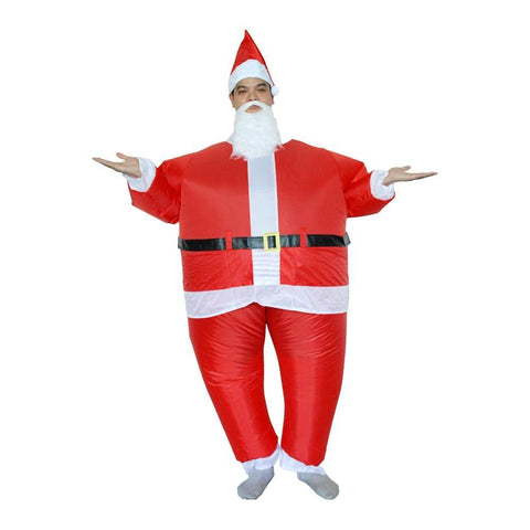 Inflatable Santa Claus Costumes Christmas Halloween Party Cosplay - SpiritCos
