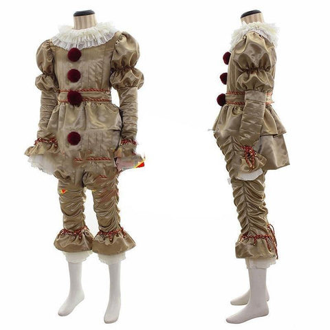 New Stephen King'S It Costume Pennywise The Dancing Clown Cosplay Carnival Halloween Cosplay - SpiritCos