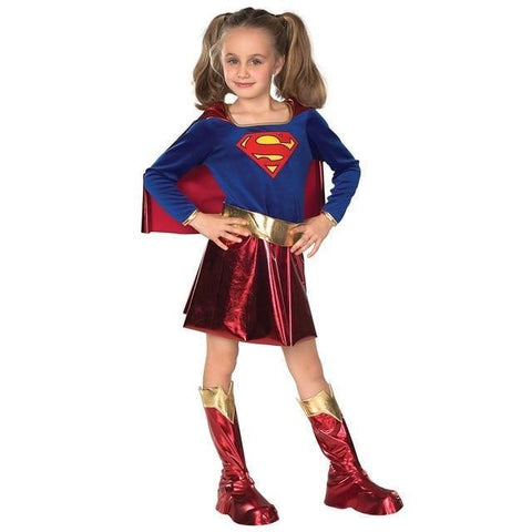 Captain Marvel Child Girl Superhero Cosplay Party Super Costumes Dress - SpiritCos