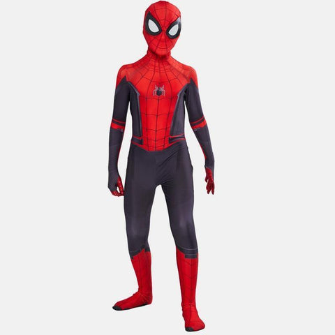 Boys Spiderman Far From Home Zentai Suit Halloween Superman Cosplay Party Carnival Costume - SpiritCos