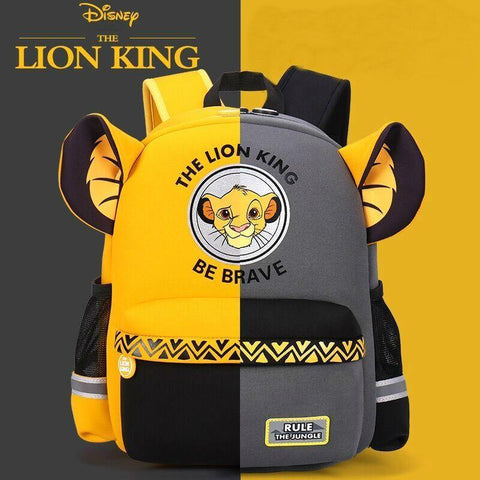 Hot Genuine Disney Simba The Lion King Backpack Kids Boys Cartoon Lion King School Bags Girls Baby Children Toy Chiristmas Gift - SpiritCos